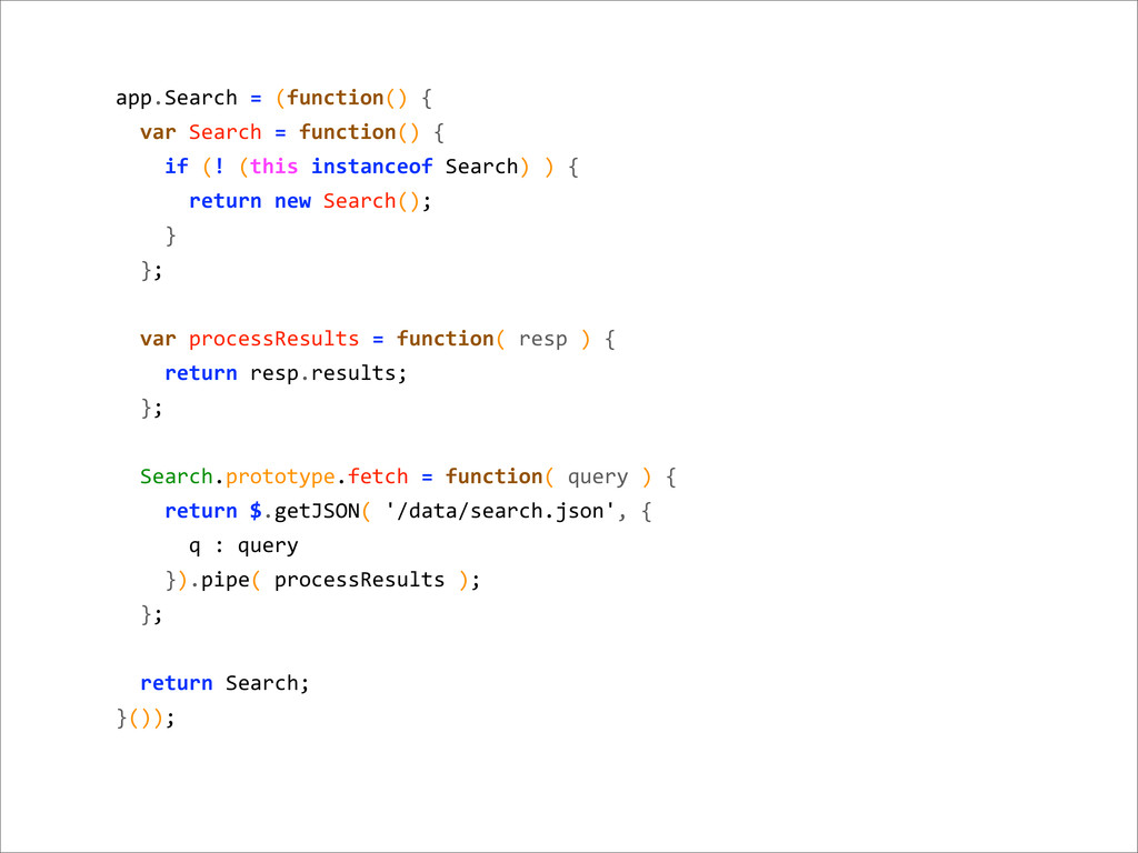 app.Search = (function() {   var...