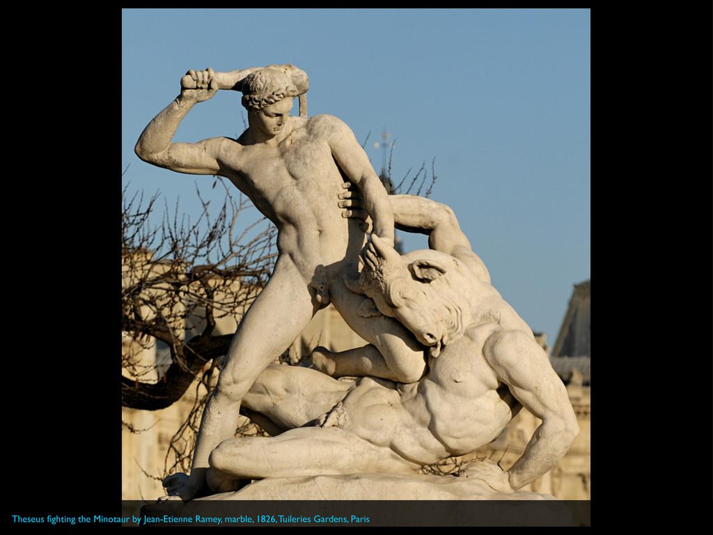 Theseus fighting the Minotaur by Jean-Etienne Ra...