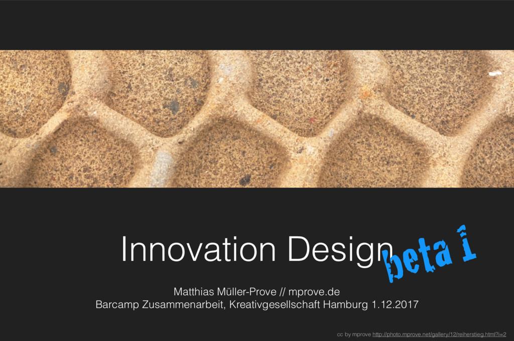 Innovation Design Matthias Müller-Prove // mpro...
