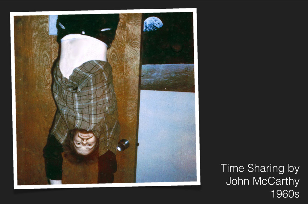 Time Sharing by John McCarthy 1960s Whit Diffey...