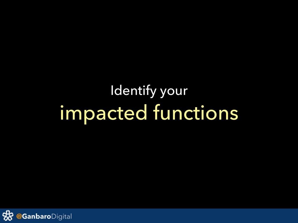 @GanbaroDigital Identify your impacted functions