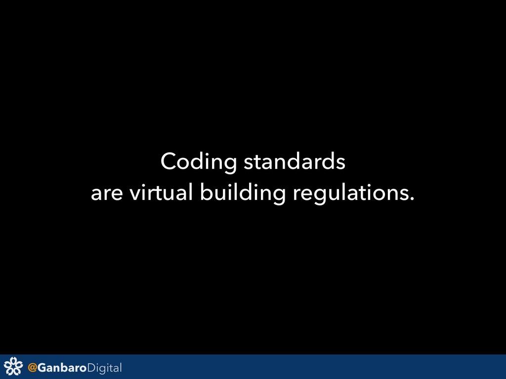 @GanbaroDigital Coding standards are virtual bu...
