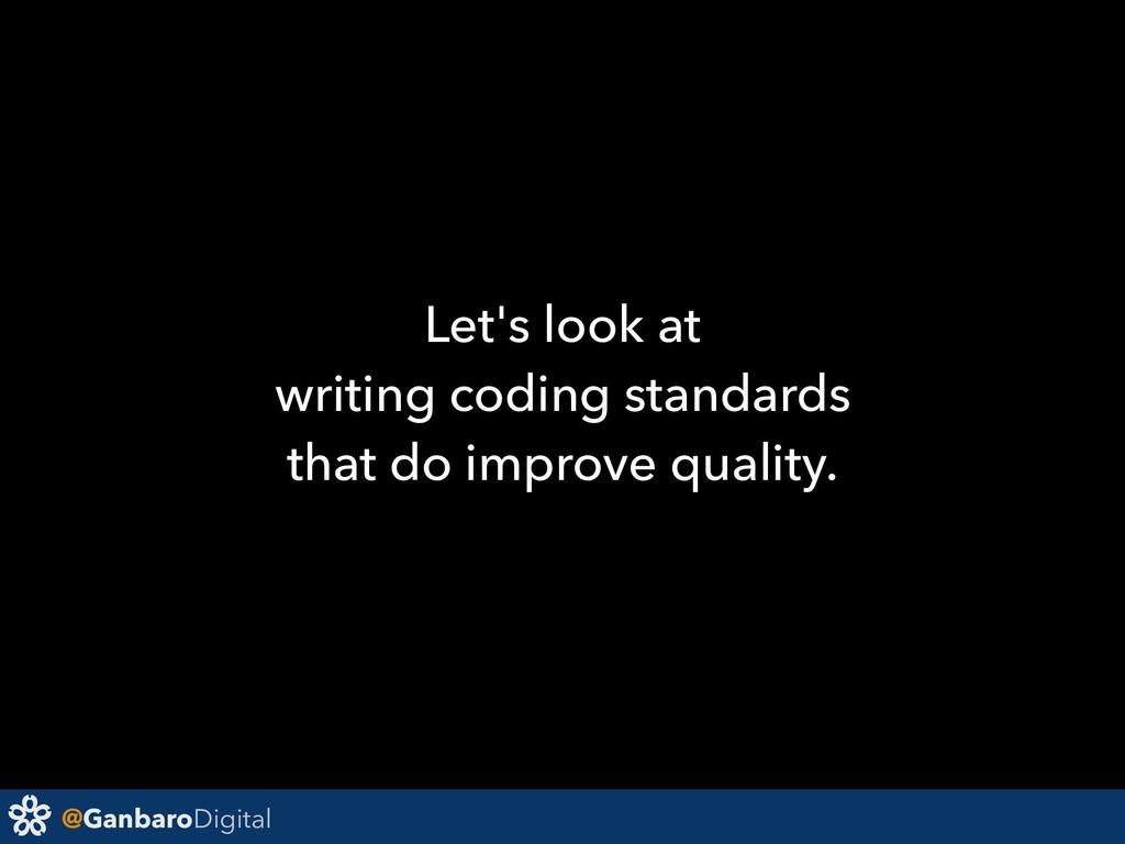 @GanbaroDigital Let's look at writing coding st...