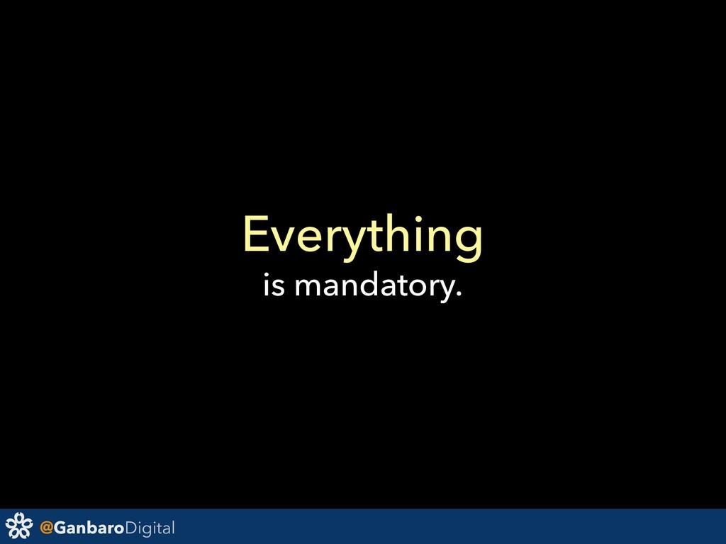 @GanbaroDigital Everything is mandatory.