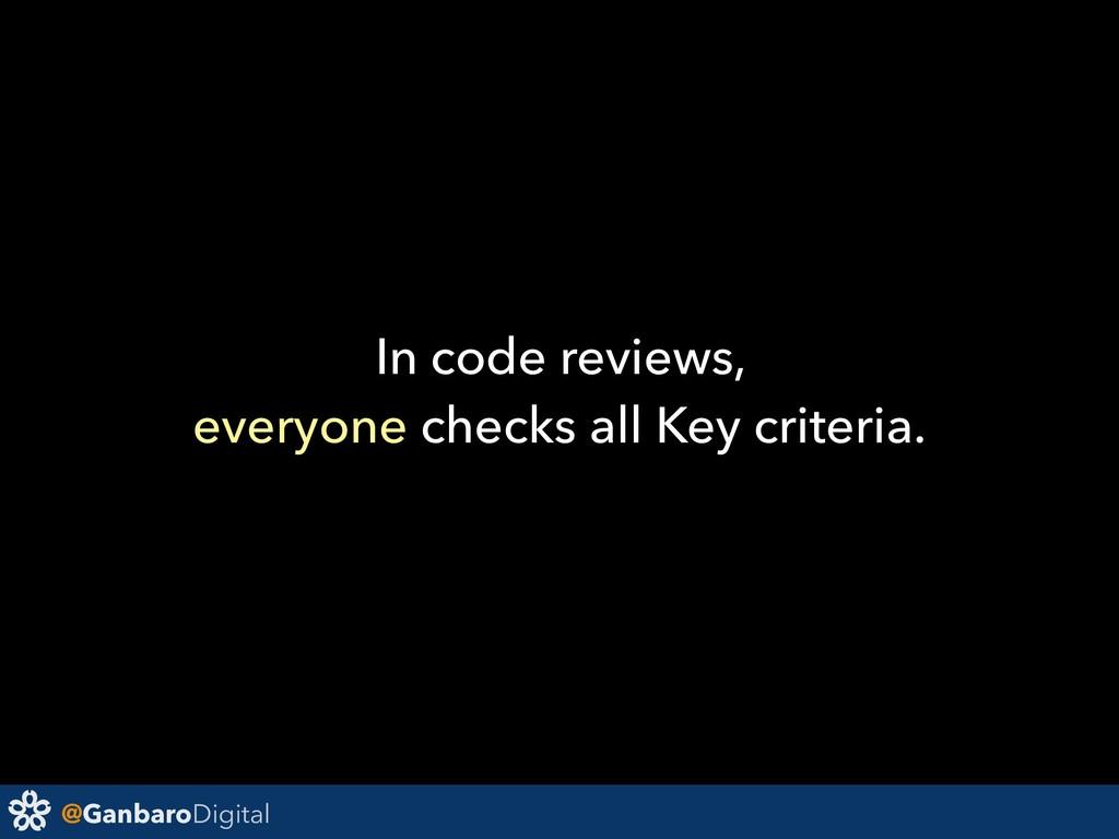 @GanbaroDigital In code reviews, everyone check...