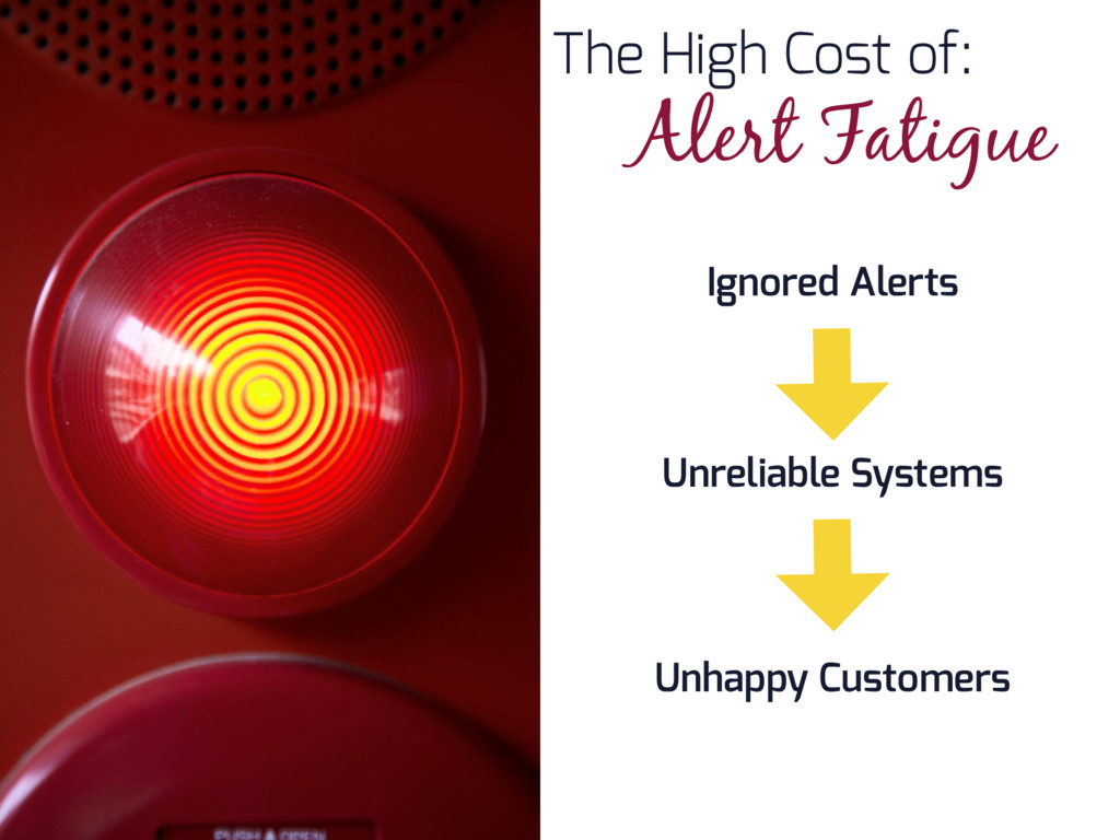 The High Cost of: Alert Fatigue Ignored Alerts ...