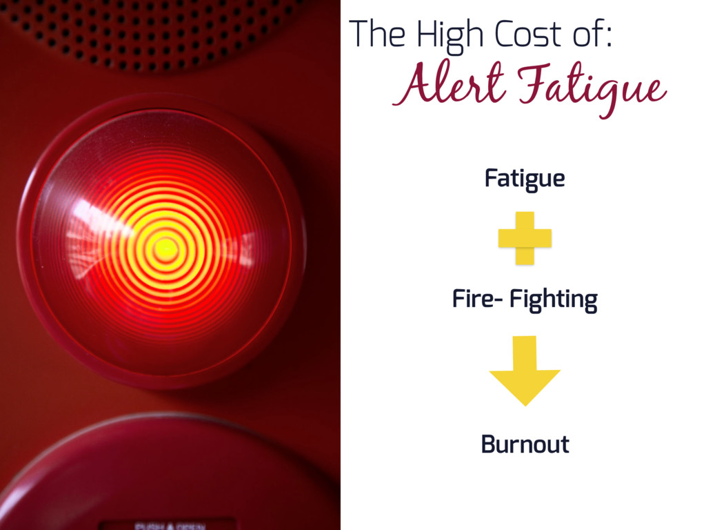 The High Cost of: Alert Fatigue Fatigue Fire- F...