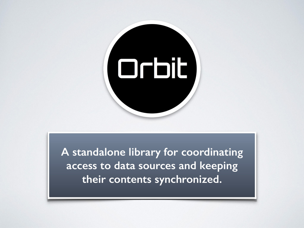 A standalone library for coordinating access to...
