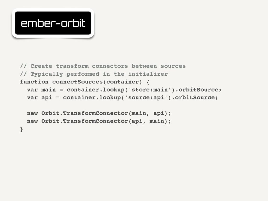 ember-orbit // Create transform connectors betw...