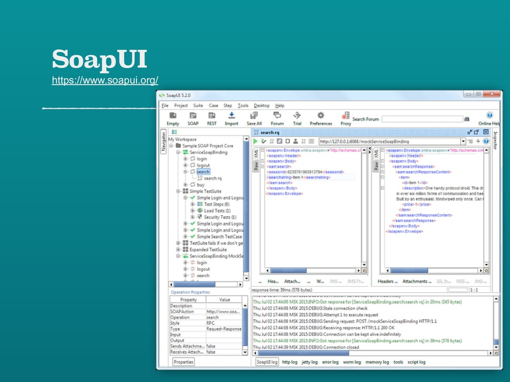 SoapUI https://www.soapui.org/