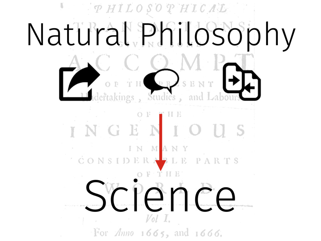 Natural Philosophy Science