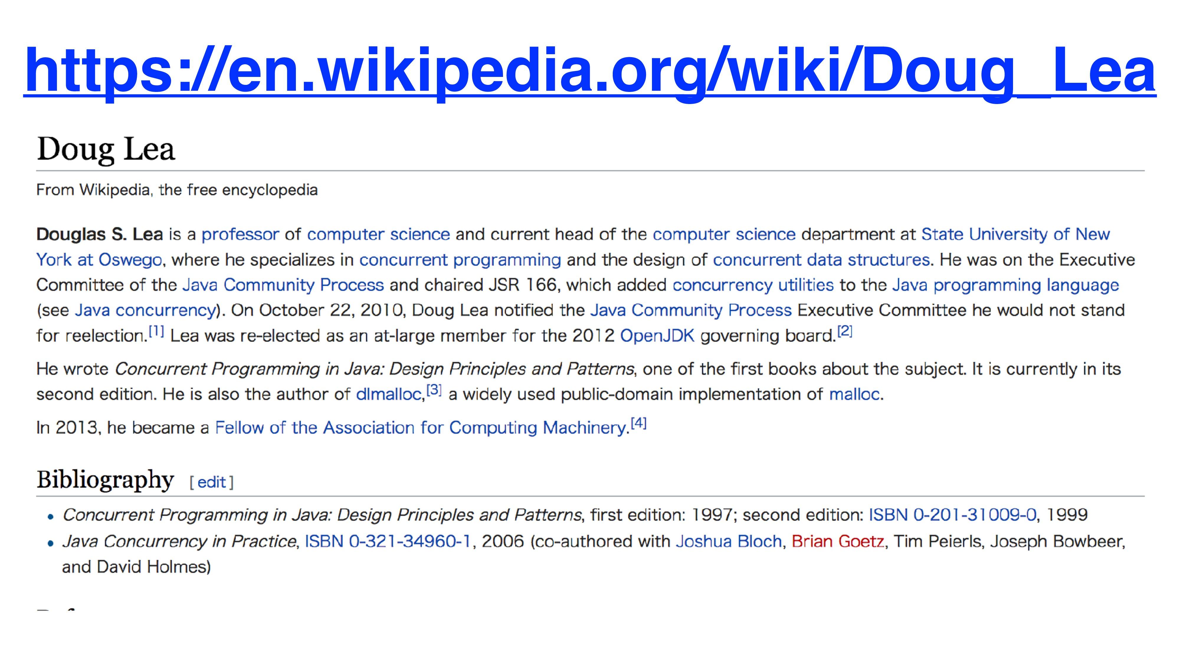 https://en.wikipedia.org/wiki/Doug_Lea