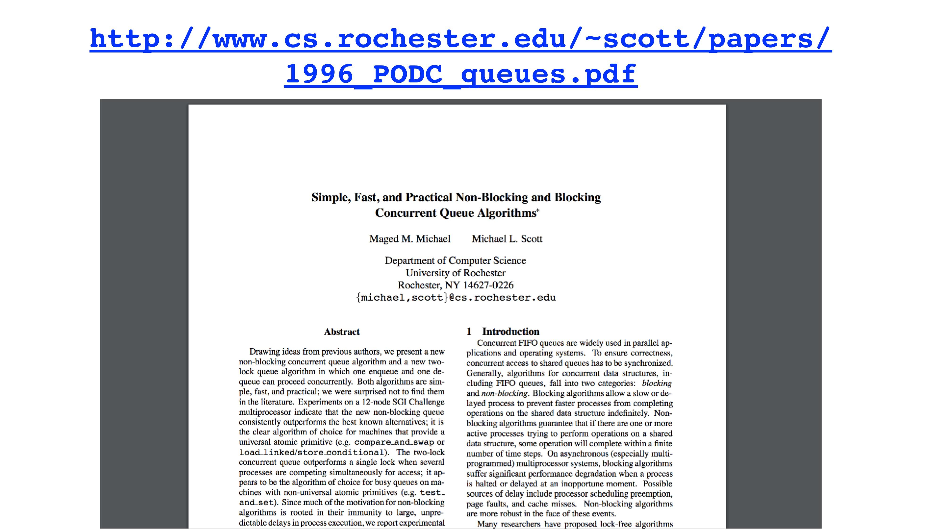 http://www.cs.rochester.edu/~scott/papers/ 1996...