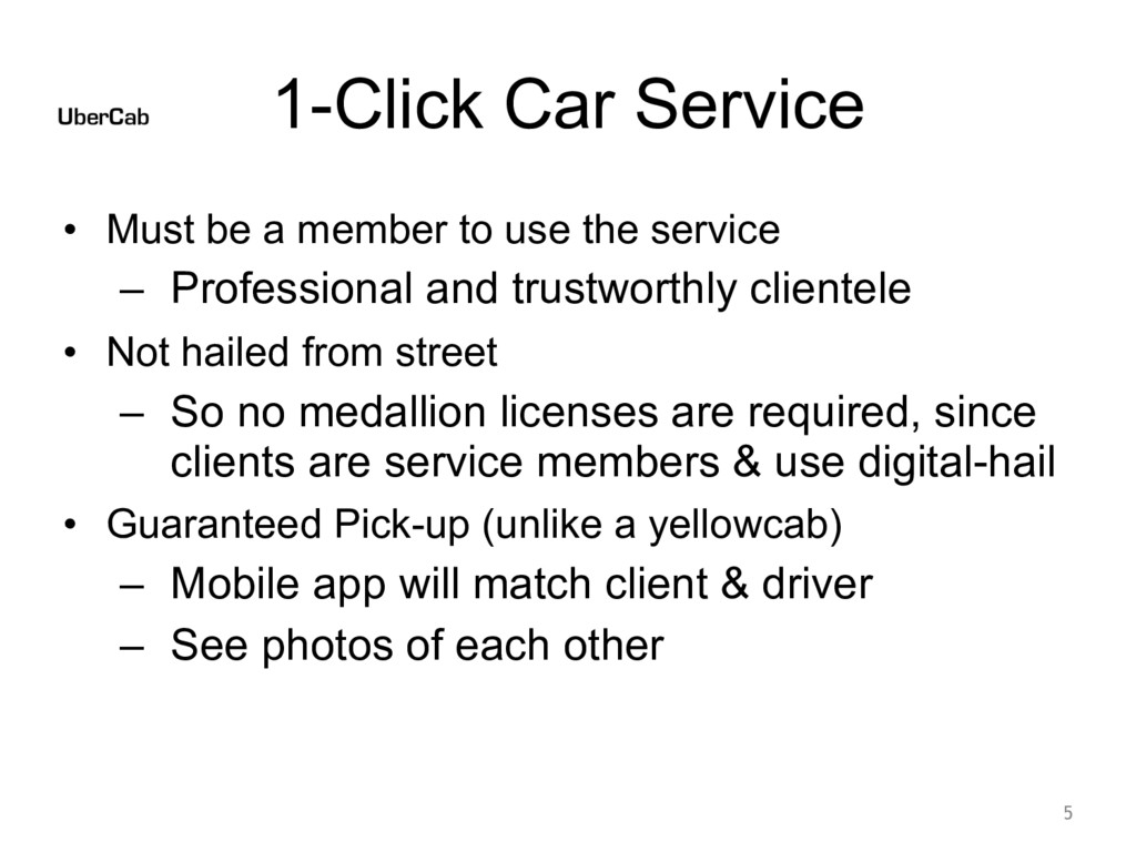 1-Click Car Service • Must be a member to use t...