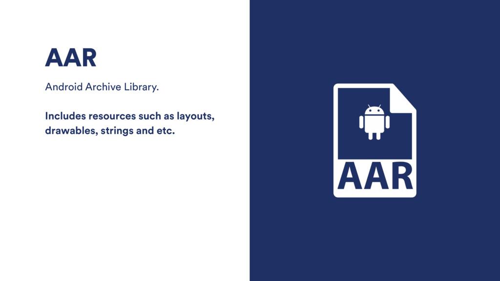 AAR Android Archive Library. Includes resources...