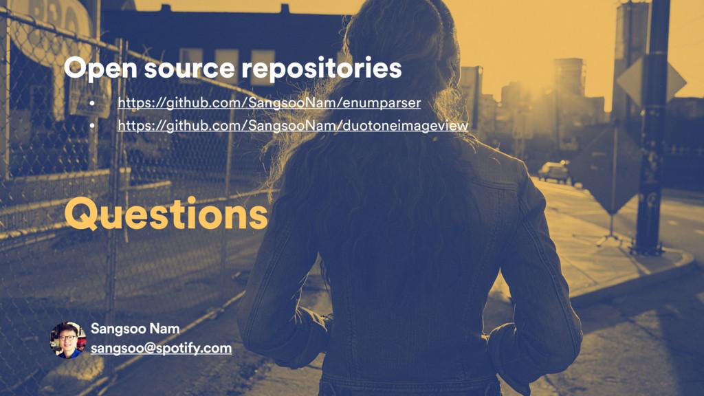 Open source repositories • https://github.com/S...