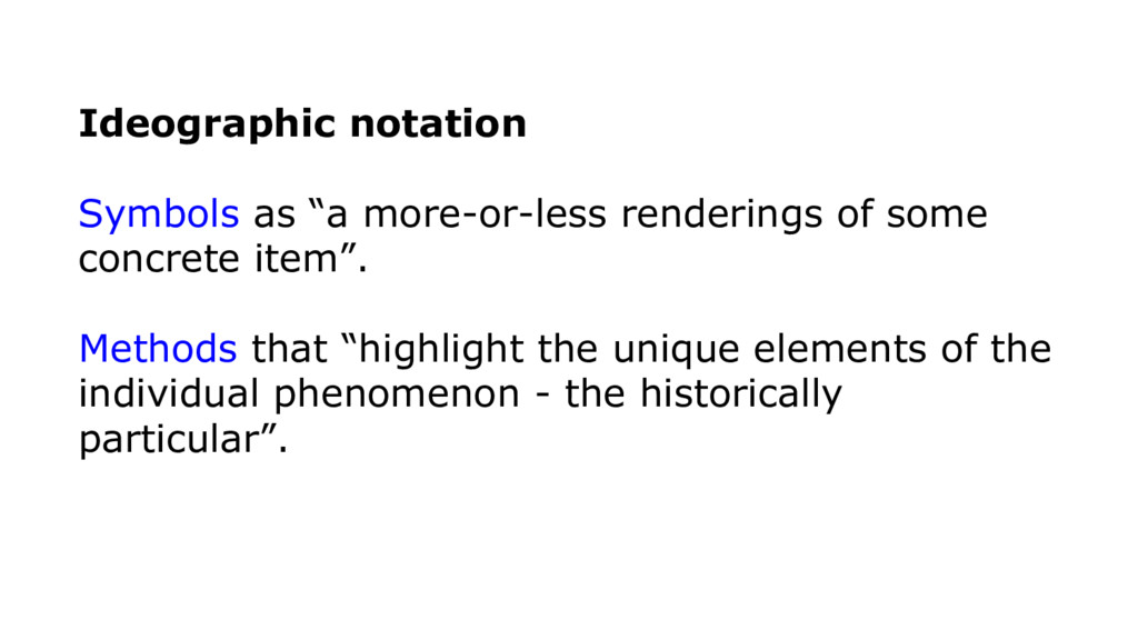 """Ideographic notation Symbols as """"a more-or-less..."""