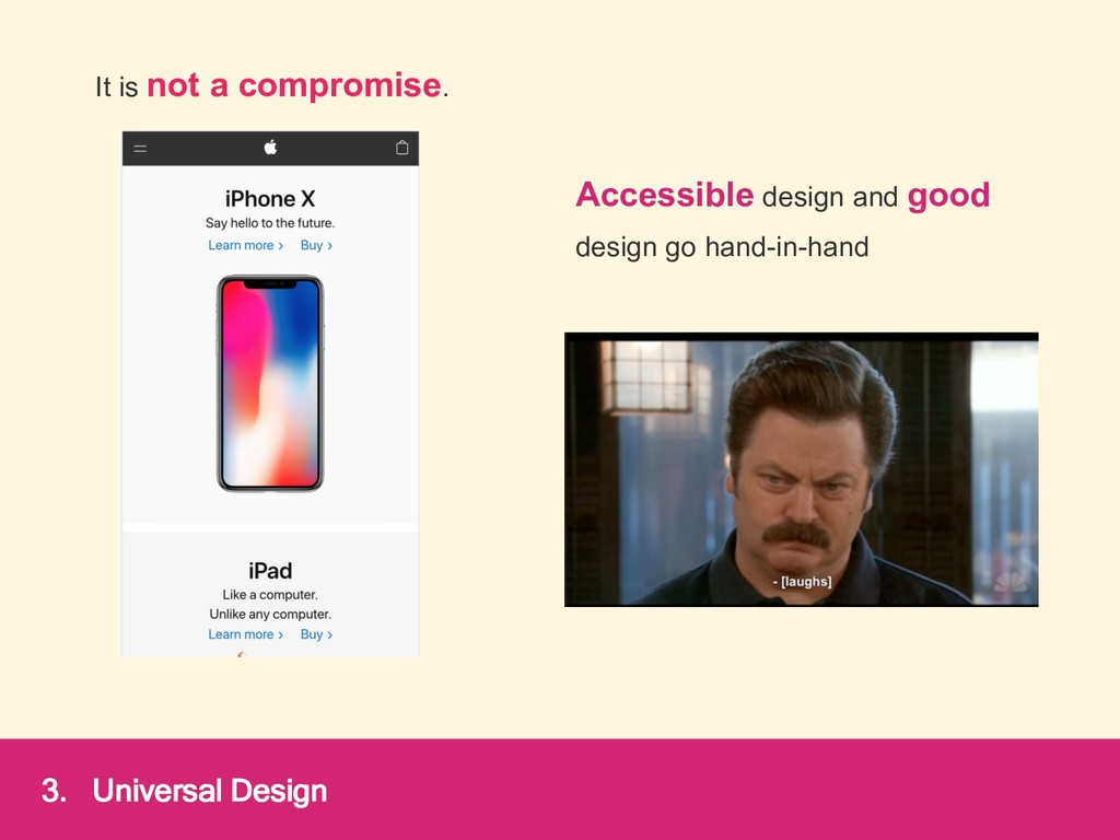 Accessible design and good design go hand-in-ha...