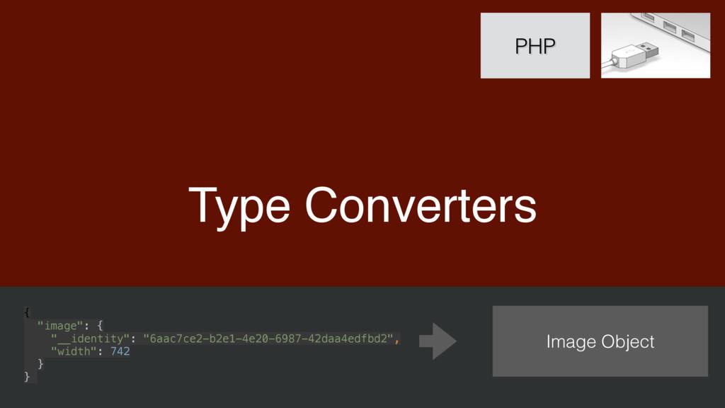 "Type Converters PHP { ""image"": { ""__identity""..."