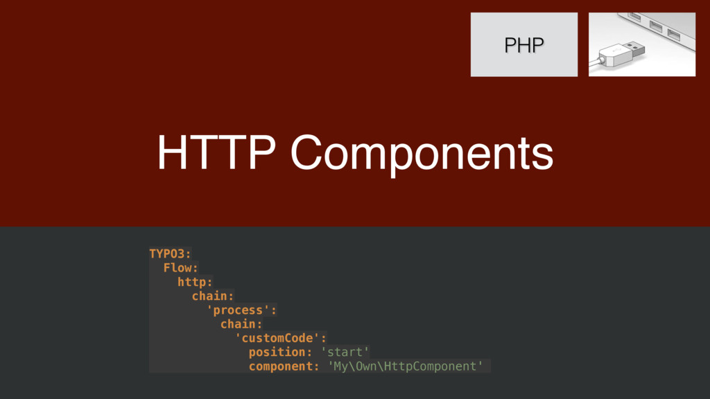 HTTP Components PHP TYPO3: Flow: http: chain...