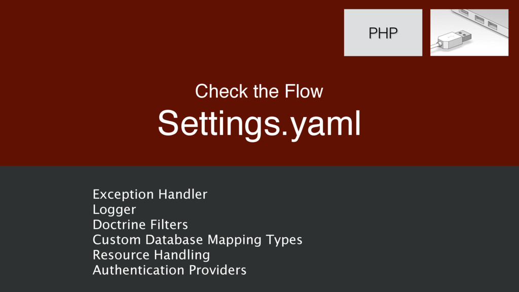 Check the Flow Settings.yaml PHP Exception Hand...