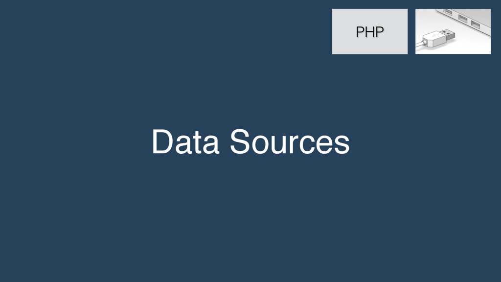 Data Sources PHP