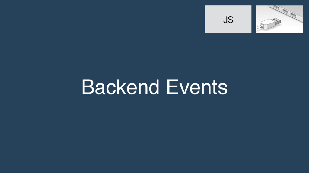 Backend Events JS