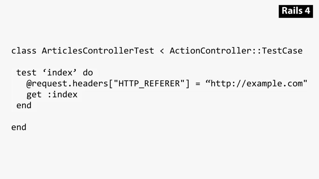 class ArticlesControllerTest < ActionController...