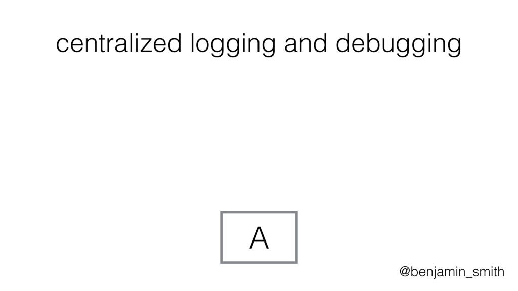 A centralized logging and debugging @benjamin_s...