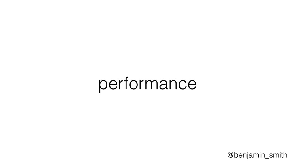 performance @benjamin_smith