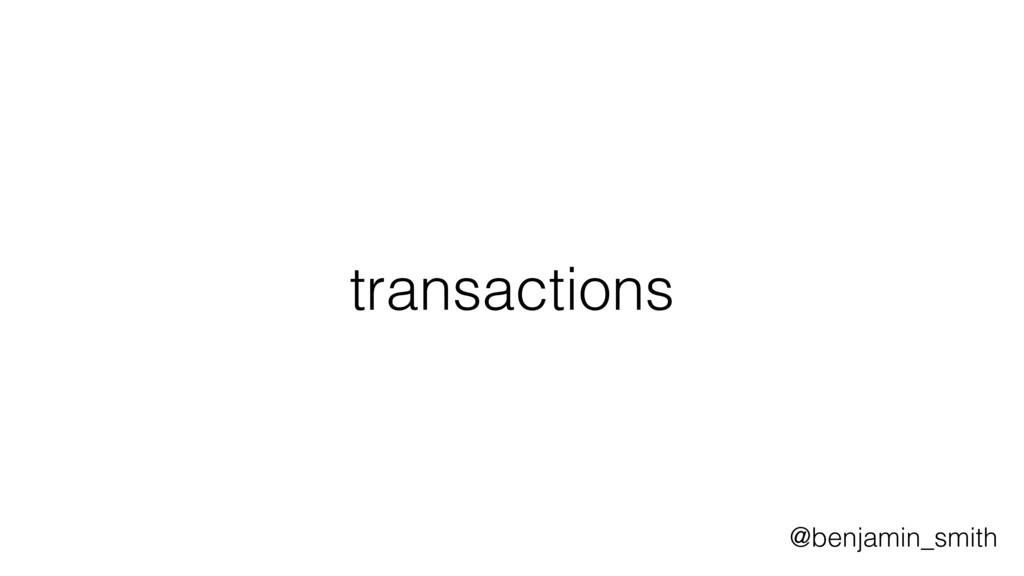 transactions @benjamin_smith