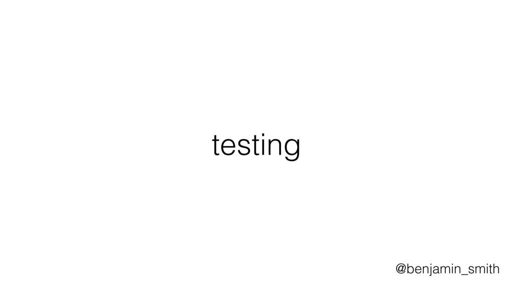 testing @benjamin_smith