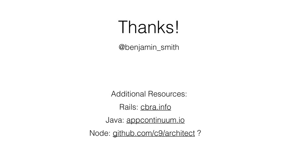 Thanks! @benjamin_smith Additional Resources: R...