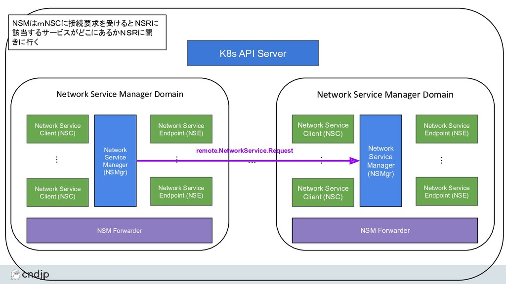 Network Service Manager Domain Network Service ...