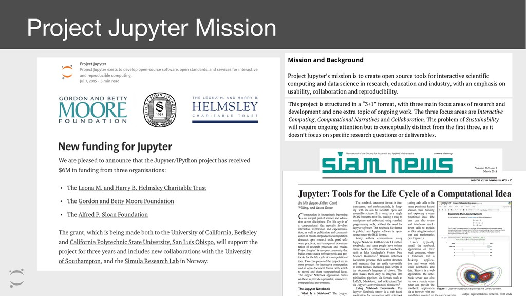 Project Jupyter Mission