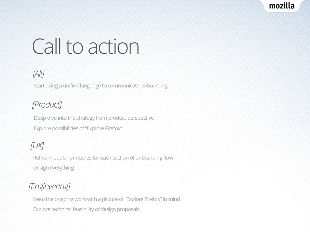 Call to action [Product] [UX] Deep dive into th...