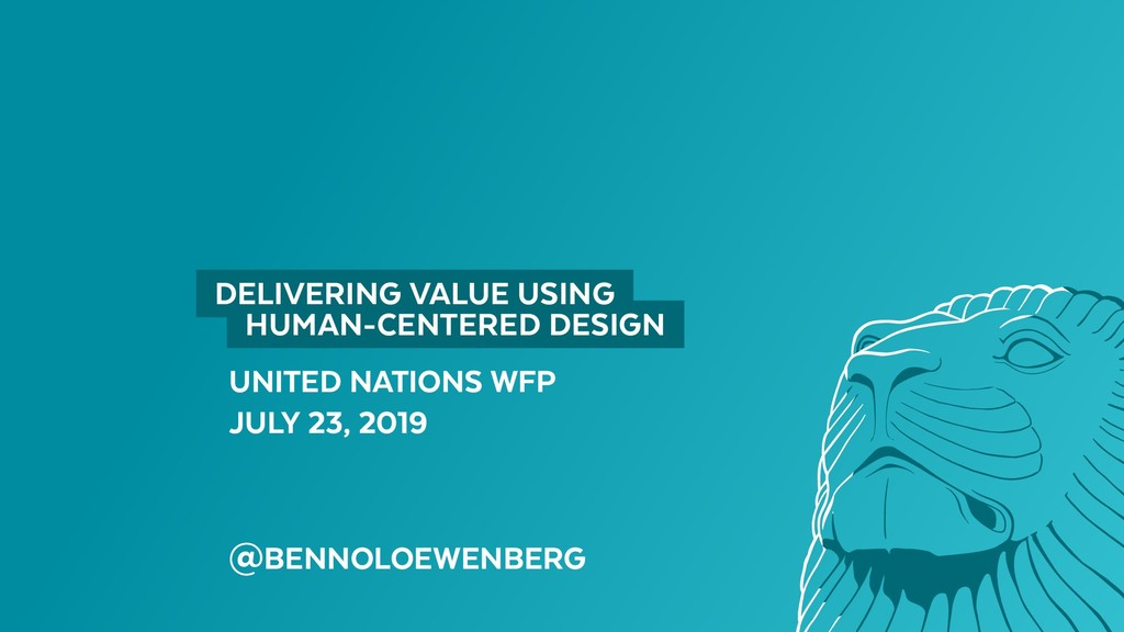 UNITED NATIONS WFP JULY 23, 2019 @BENNOLOEWENBE...