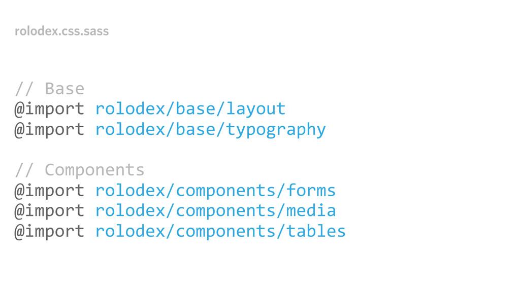rolodex.css.sass // Base @import rolodex/...