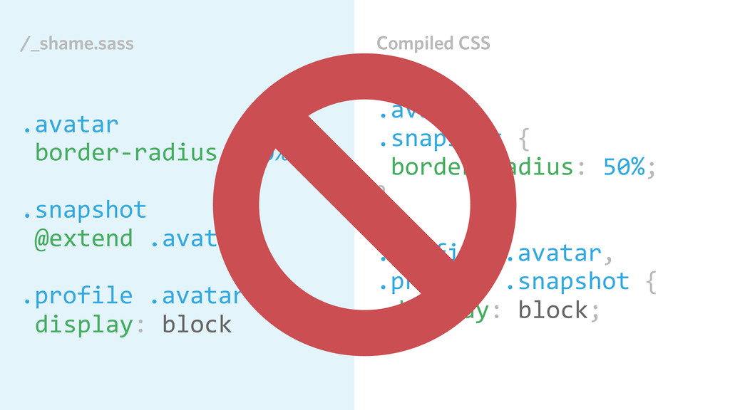 Compiled CSS .avatar, .snapshot { border-‐r...