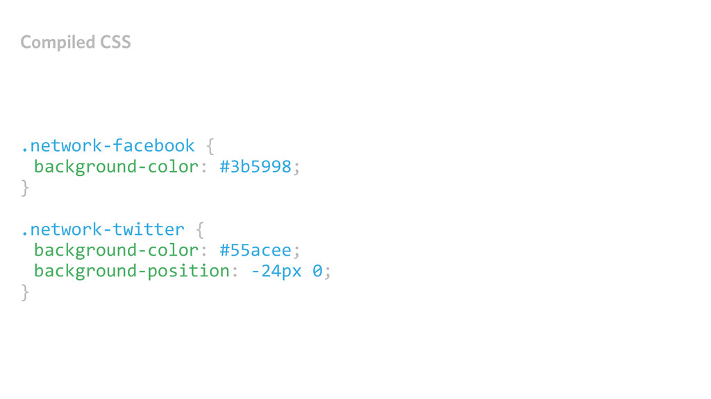 Compiled CSS .network-‐facebook { backgroun...