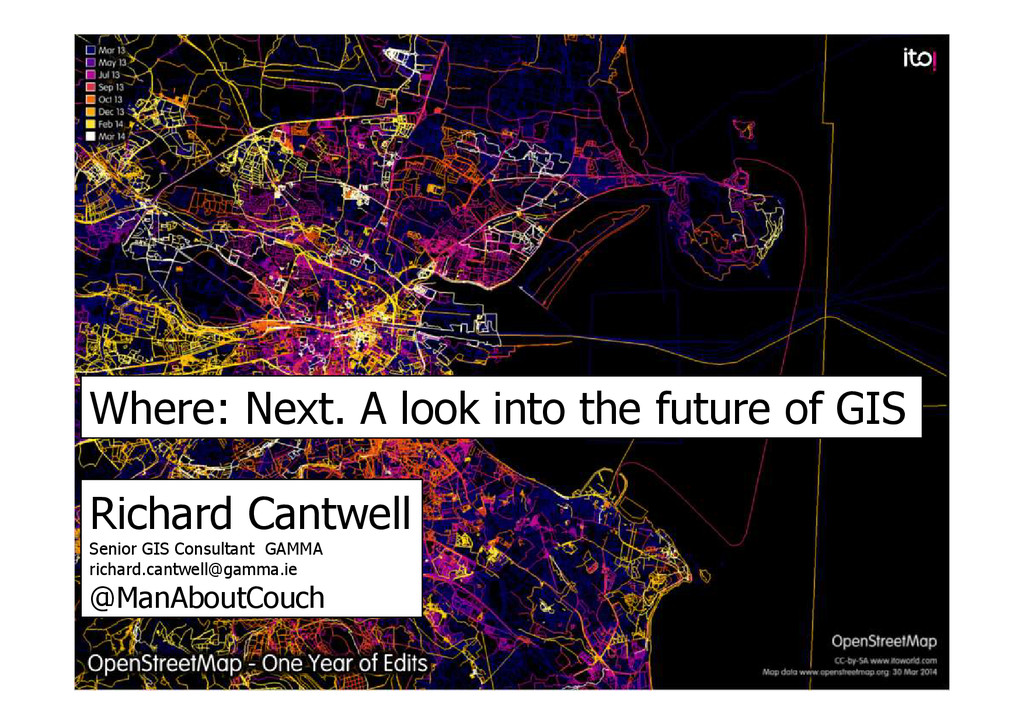 Where: Next. A look into the future of GIS Rich...