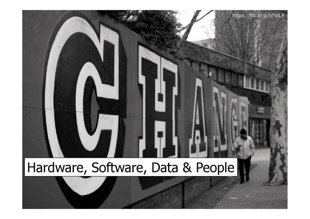Hardware, Software, Data & People https://flic....