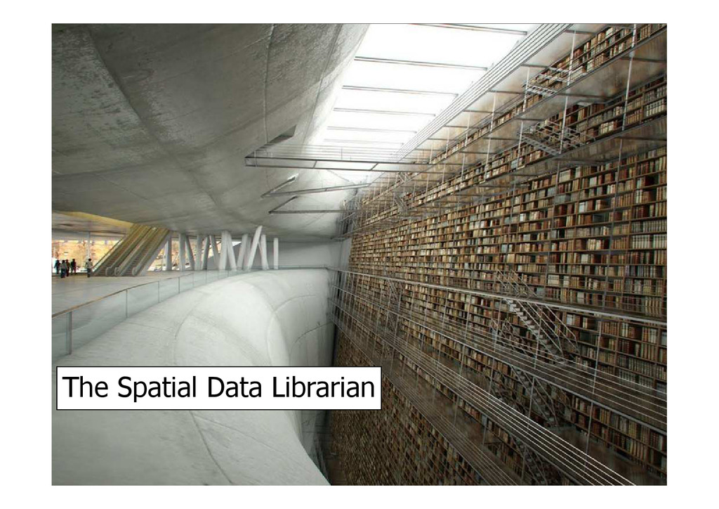 The Spatial Data Librarian