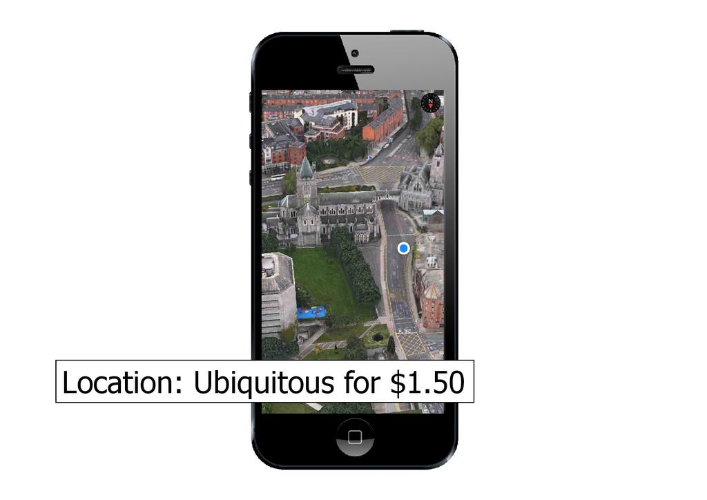 Location: Ubiquitous for $1.50