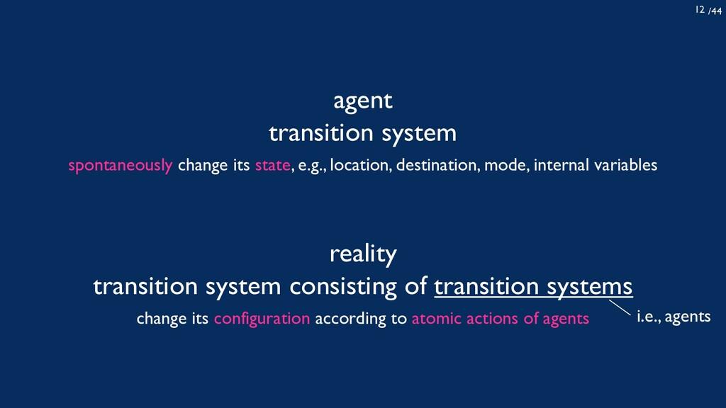 /44 12 agent transition system reality transiti...