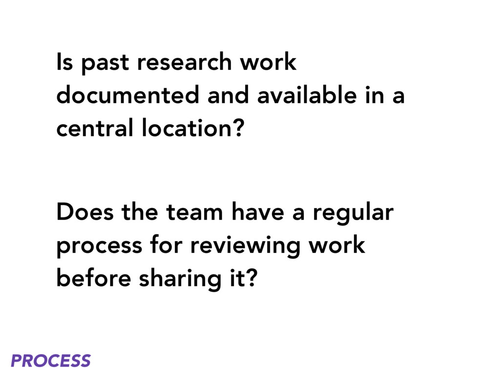 Is past research work documented and available ...