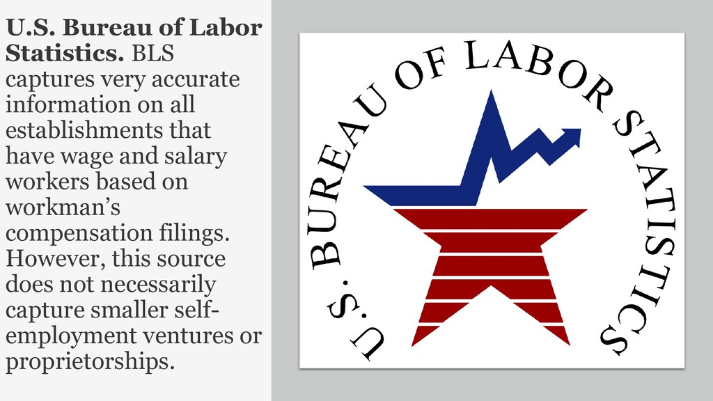 23 U.S. Bureau of Labor Statistics. BLS capture...