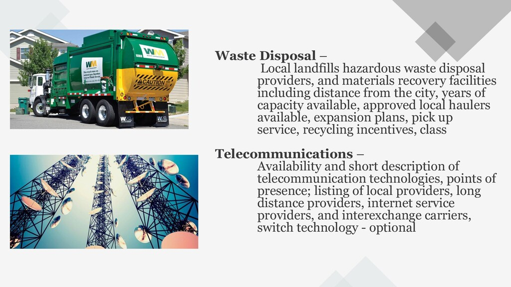 70 Waste Disposal – Local landfills hazardous w...