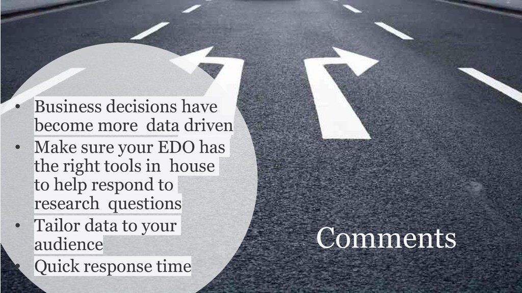 Comments • Business decisions have become more ...