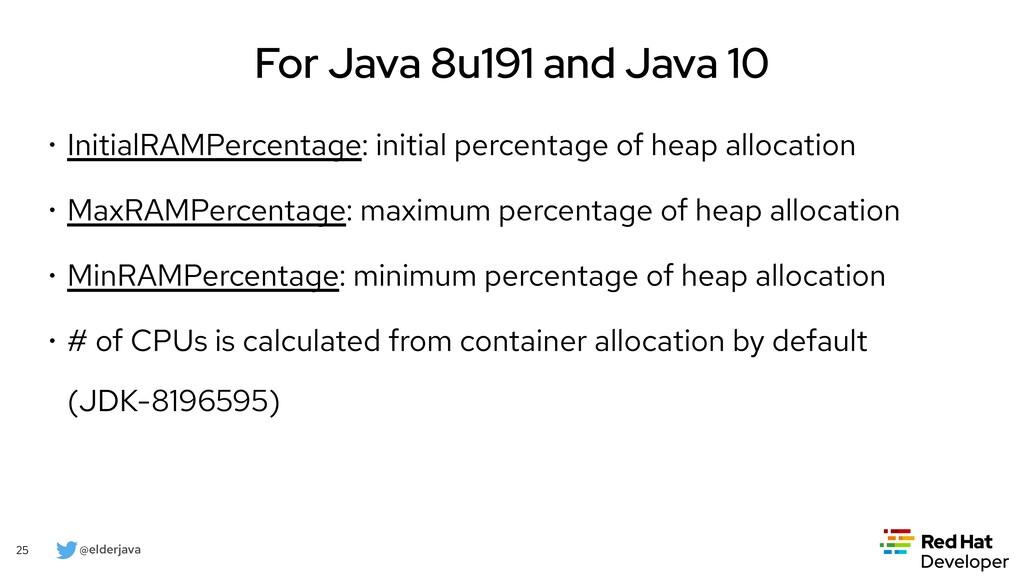 @elderjava 25 For Java 12 and 13 • jhsdb now ca...